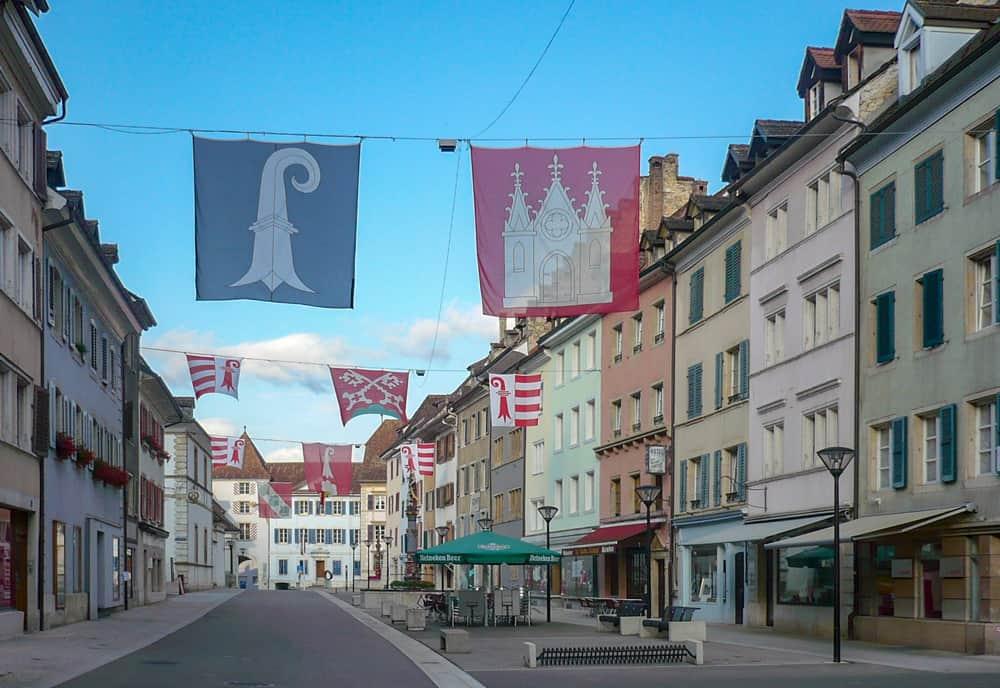 Hauptstrasse in Delemont