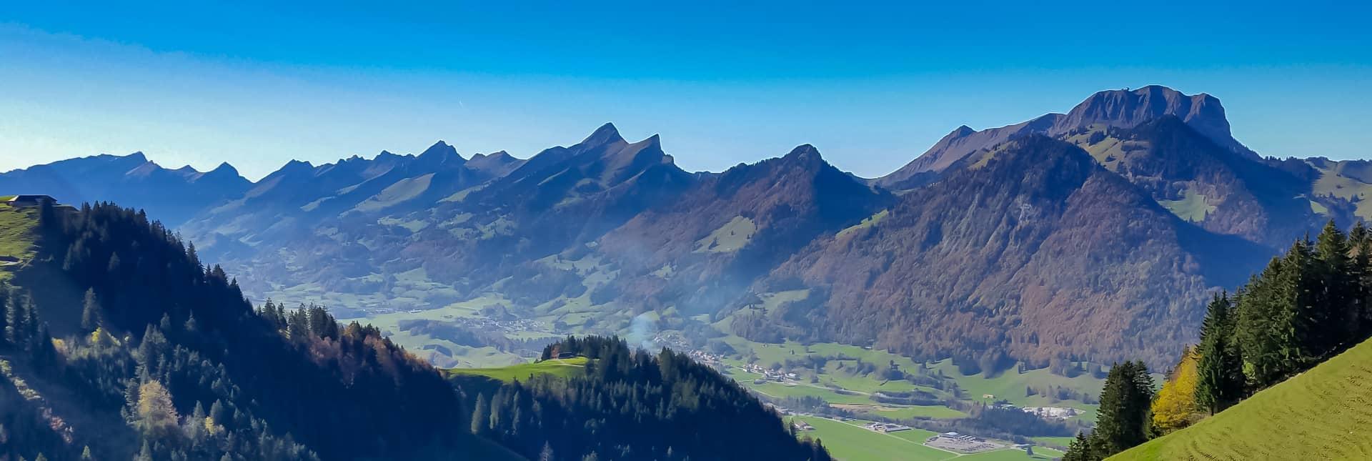 In den Fribourger Bergen mit Galliker Ballwil AG CarReisen