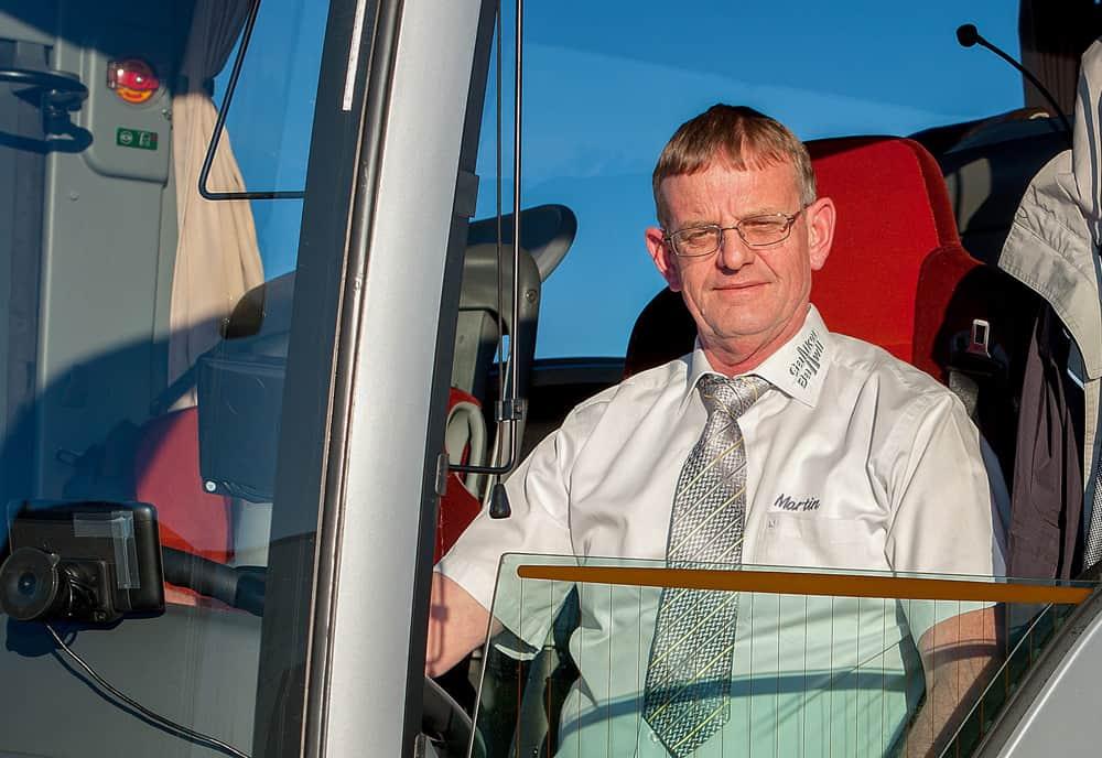 Martin Zimmermann CarChauffeur bei Galliker Ballwil AG - CarReisen