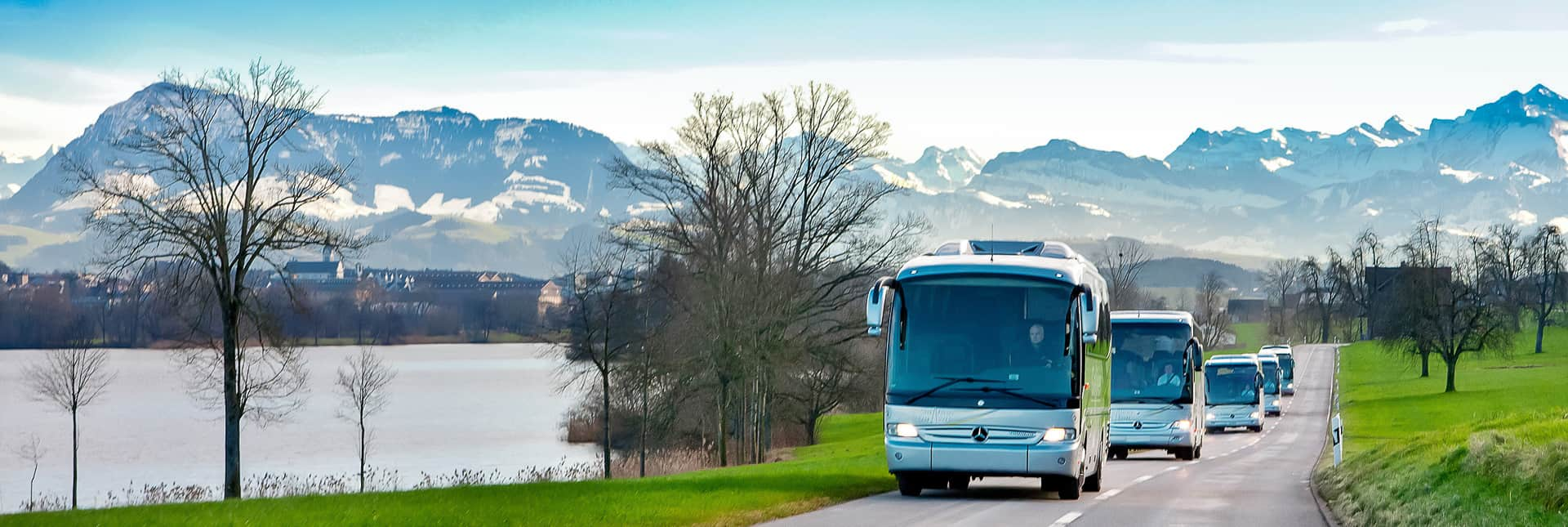 Mercedes Reisecars mit Rigi Galliker Ballwil AG CarReisen