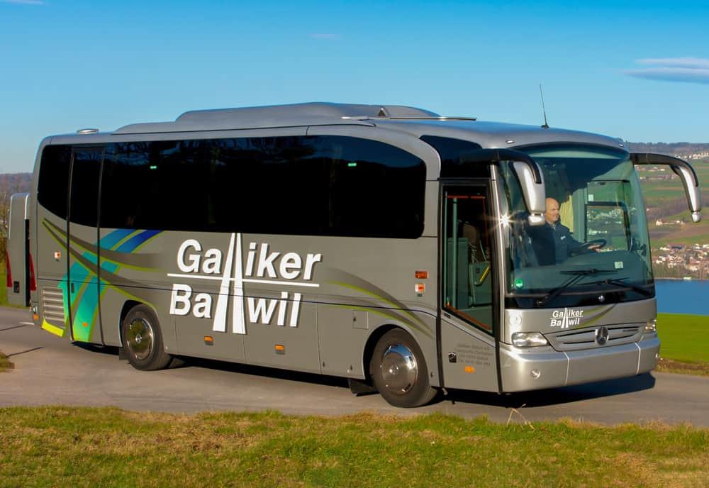 Mercedes Tourino 31-Plätzer Galliker Ballwil AG CarReisen