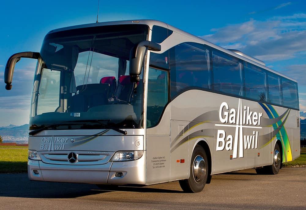 Mercedes Toursimo 51-Plätzer Galliker Ballwil AG CarReisen