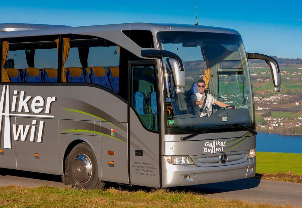 Mercedes Toursimo 55-Plätzer - Galliker Ballwil AG CarReisen