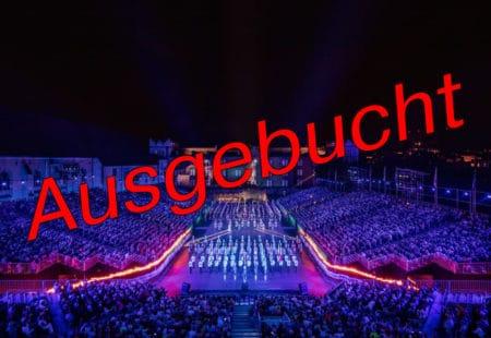 AUSGEBUCHT // Lichtshow am Basel Tattoo - perfekt inszeniert