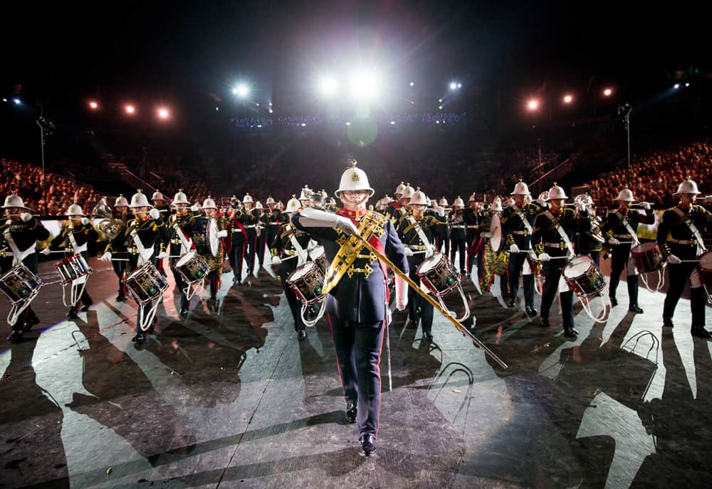 Military March Bands Am Basel Tattoo Mit Galliker Ballwil CarReisen