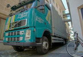 LKW-Ablad Stadt Luzern mit Vollluftfederung - Galliker Ballwil AG - Transporte
