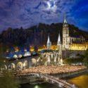 Lourdes Basilica Lichterprozession mit Galliker Ballwil AG CarReisen