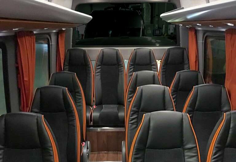 Sitze Des Mercedes Sprinters 16-19-Plaetzer Kleinbus - Galliker Ballwil AG - CarReisen