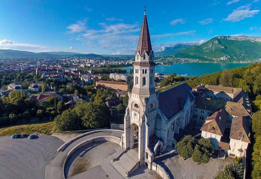 Eglise De La Visitation, Annecy - Mit Galliker Ballwil AG CarReisen