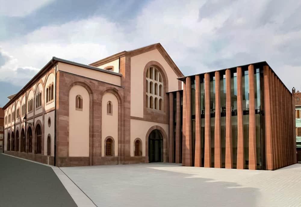 Die Neue Humanisten-Bibliothek In Selestat, Von Gabriel Braeuner
