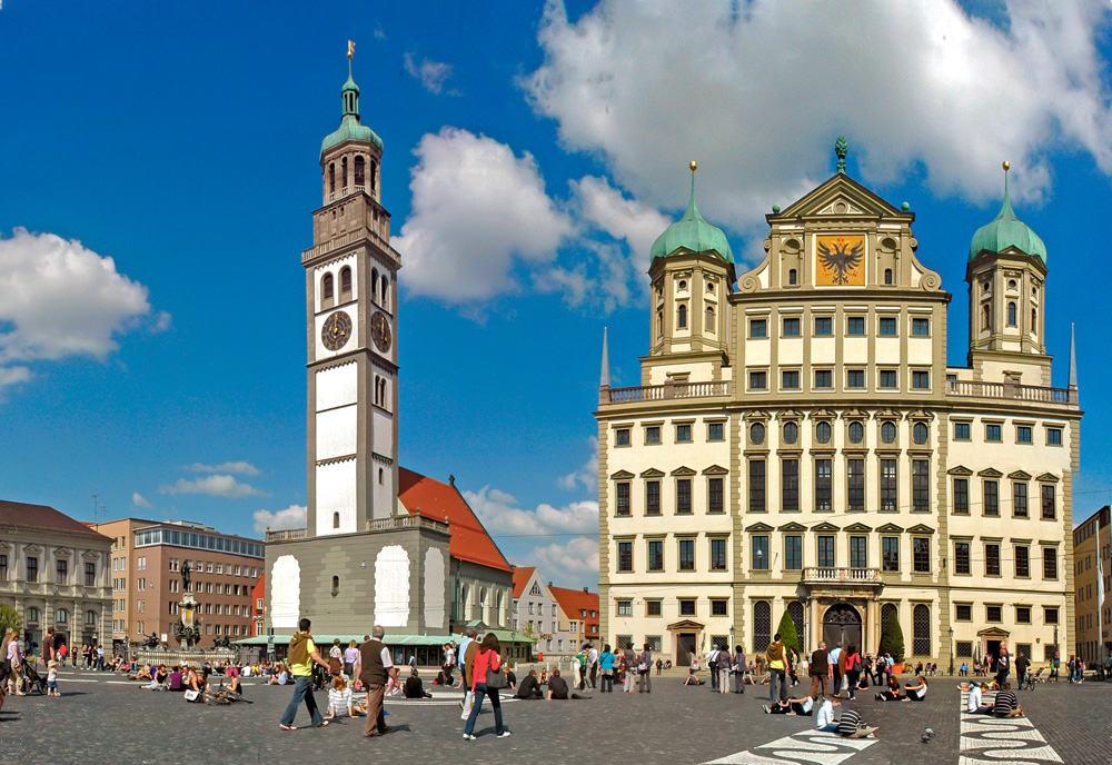 Augsburg Markt Veloreise Mit Josef Schmid Und Galliker Ballwil AG, CarReisen