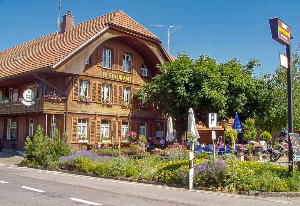 Restaurant Kreuzweg In Unterlangenegg