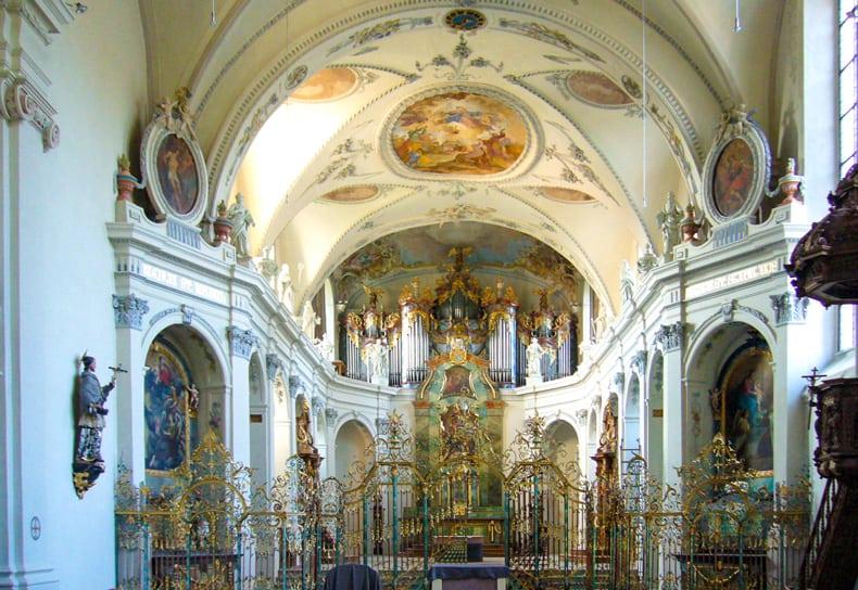 Fischingen Kloster Innen