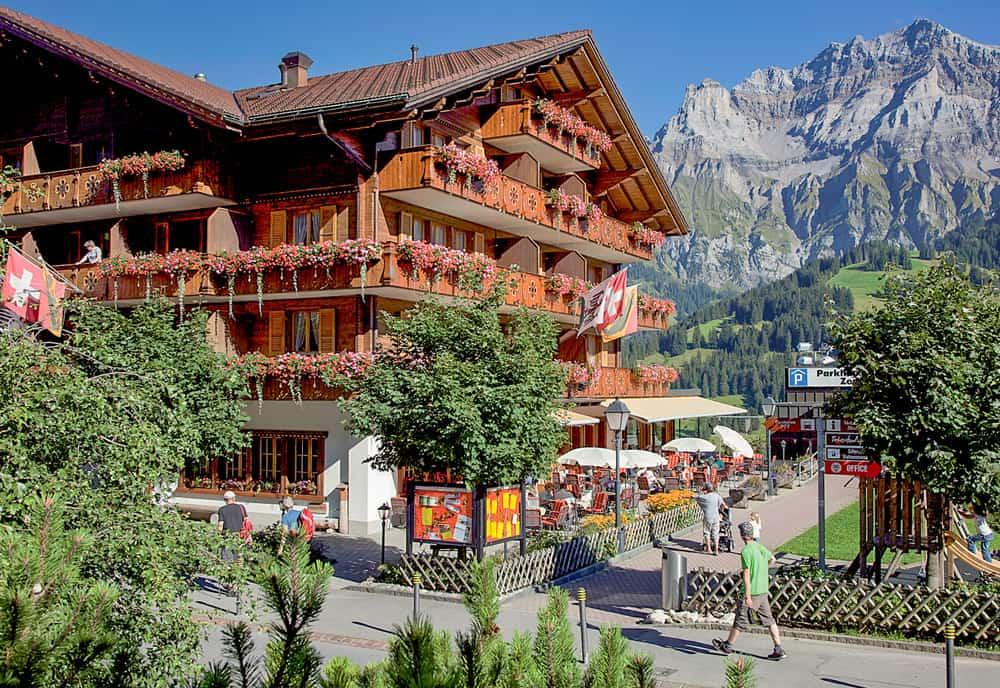 Restaurant Adler In Adelboden